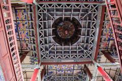 binnenzijde dak van tempel