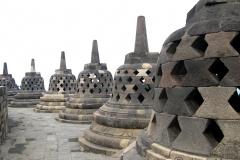 stupa's op de borobudur