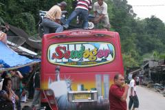 vervoer , ook op de bus